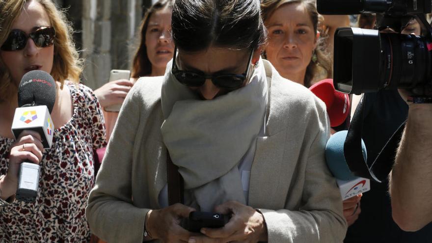 La dona d'Oriol Pujol reconeix que va tenir un compte a Andorra amb el seu marit