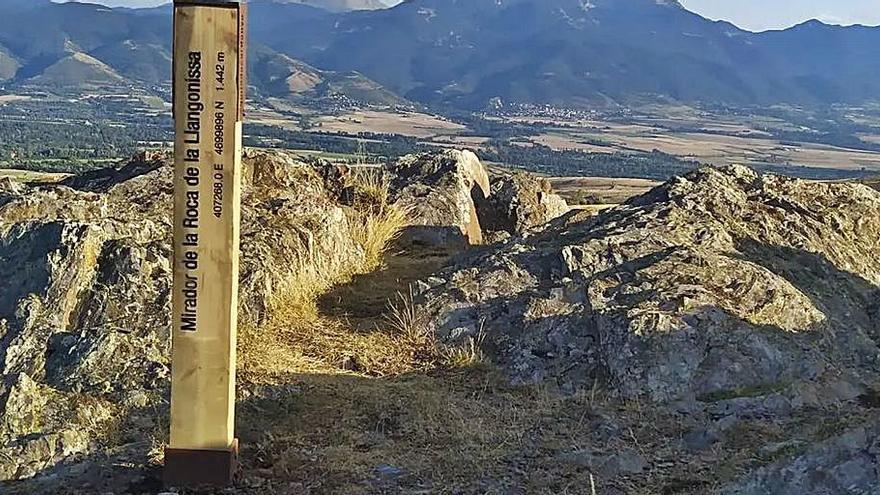 Guils condiciona el Mirador de la Roca de la Llonganissa