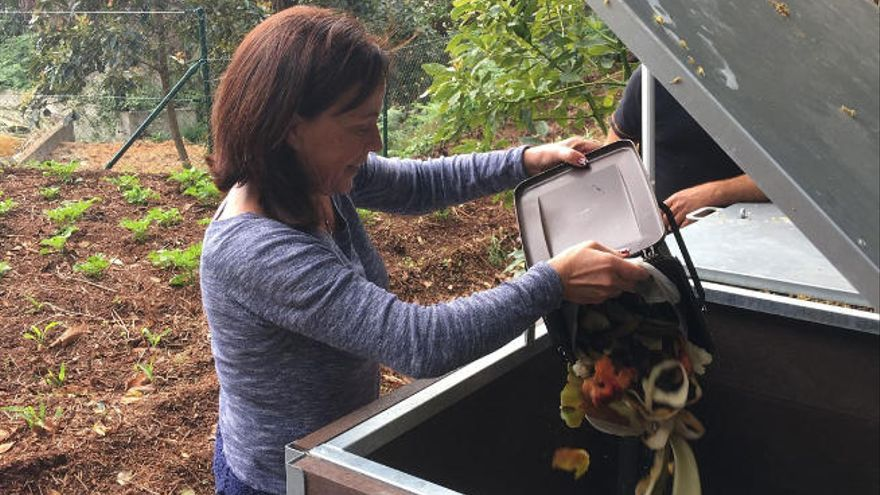 Un programa insular impulsa la apuesta por el compostaje doméstico