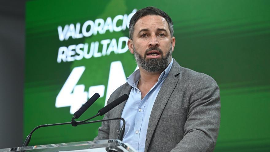 """Abascal ofrece a Vox para presidir la Asamblea de Madrid y Ayuso lo considera """"demasiado"""""""
