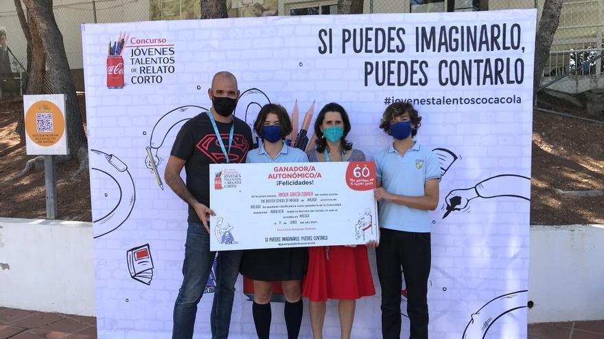 Una alumna de The British School of Málaga, ganadora del concurso de relato corto de Coca Cola