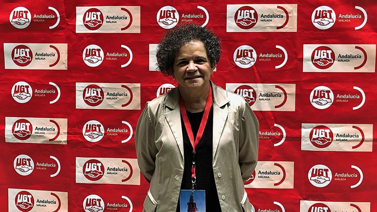 La nueva secretaria general de UGT Málaga, Soledad Ruiz.