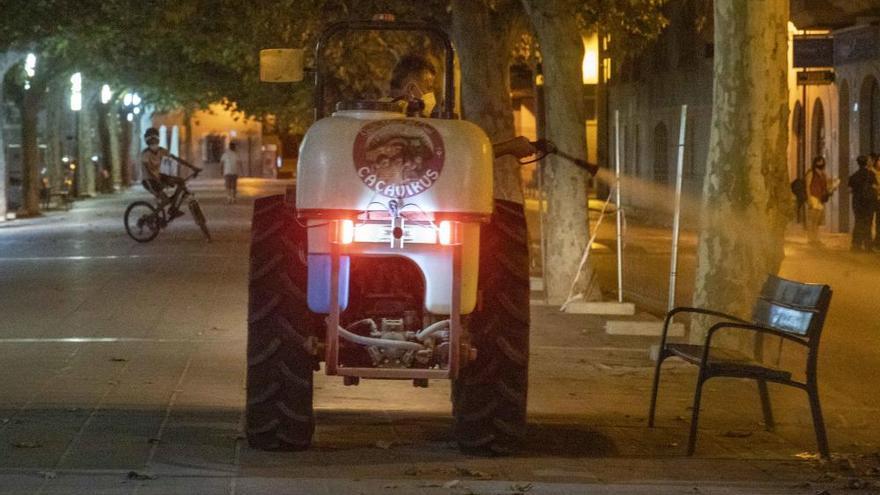 Santa Maria vuelve a sacar el tractor por el brote de coronavirus
