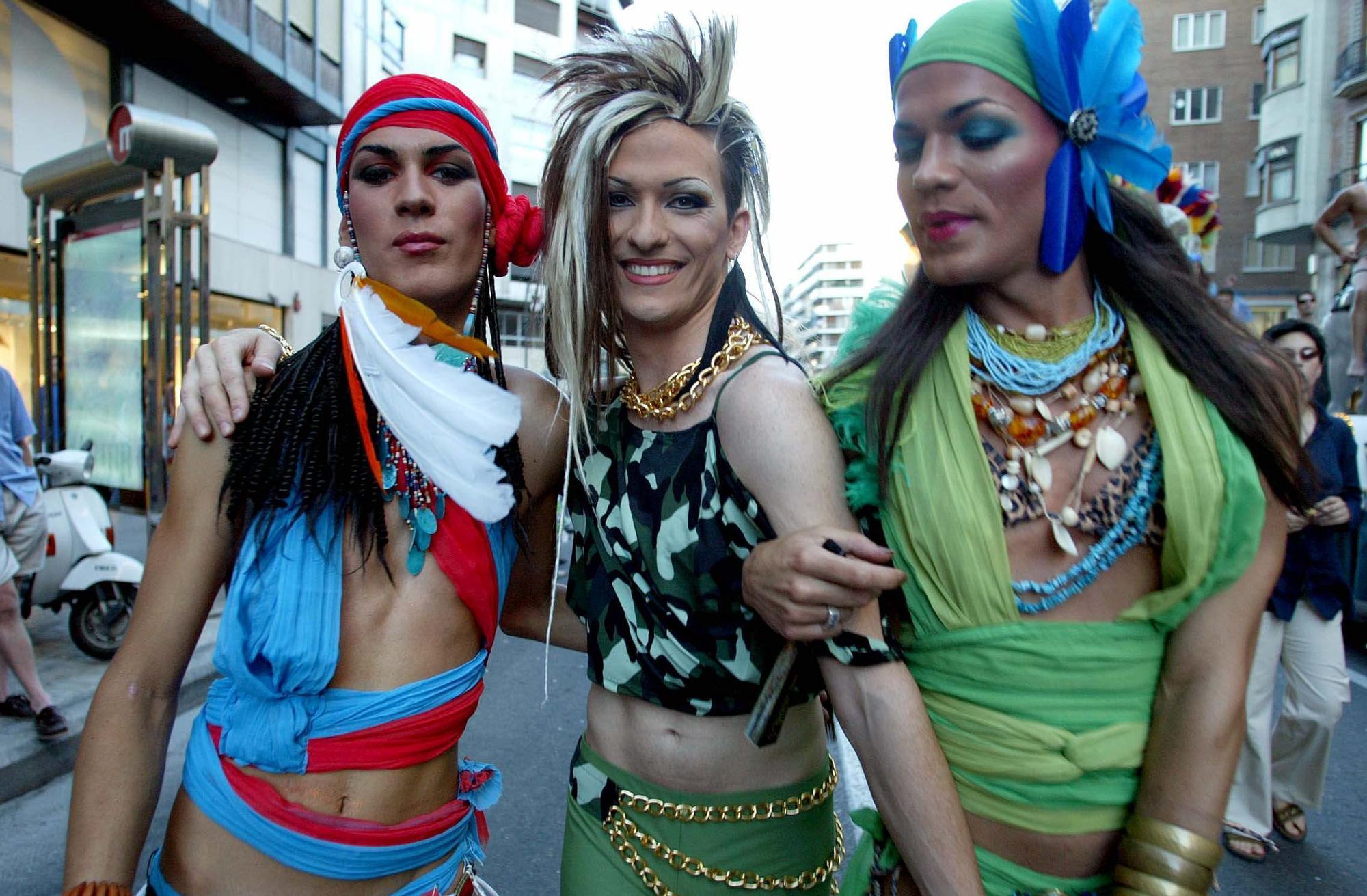 Orgullo LGTBI en 2003 en València