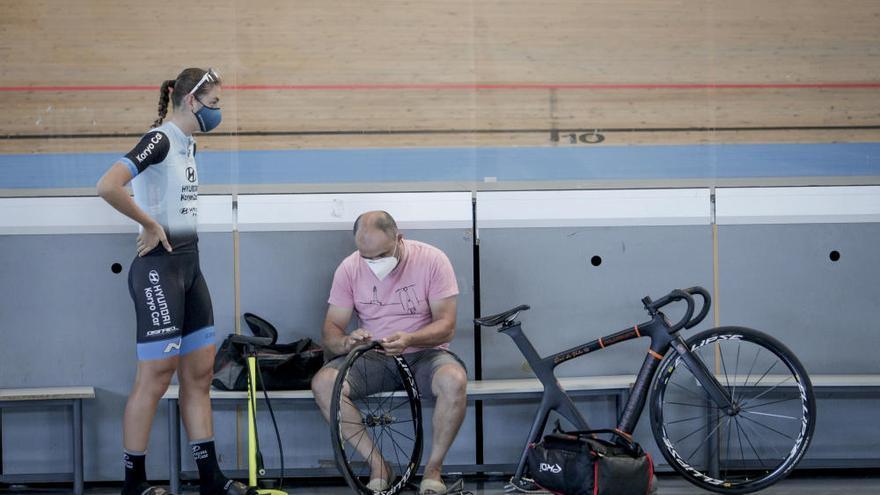Los ciclistas de Baleares vuelven al Velòdrom