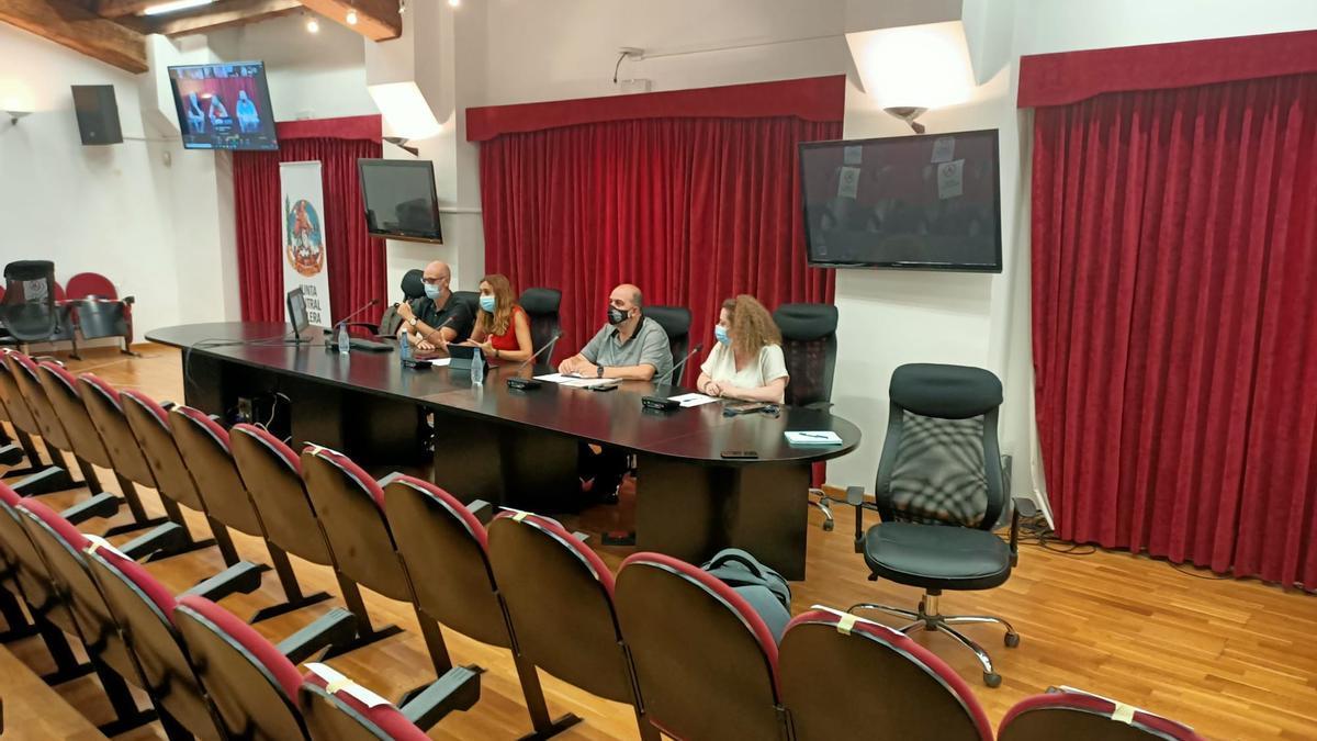 La formación se realizó de forma telemática, con los instructores en solitario en la sede de la JCF