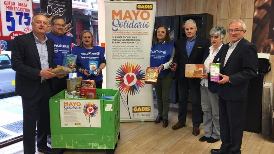 """Gadis pone en marcha en Zamora su campaña """"Mayo Solidario"""""""