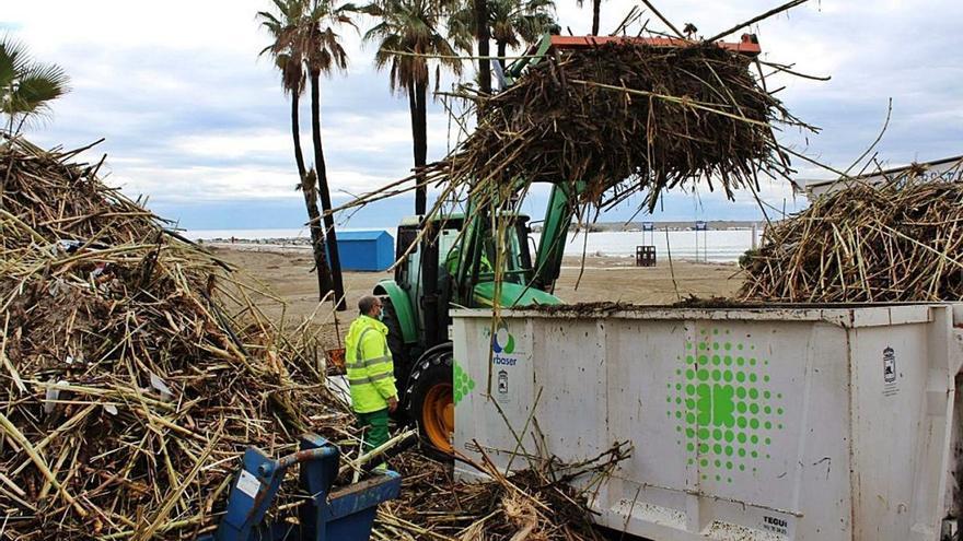 Los municipios de la costa se apresuran a reparar los daños causados por Filomena