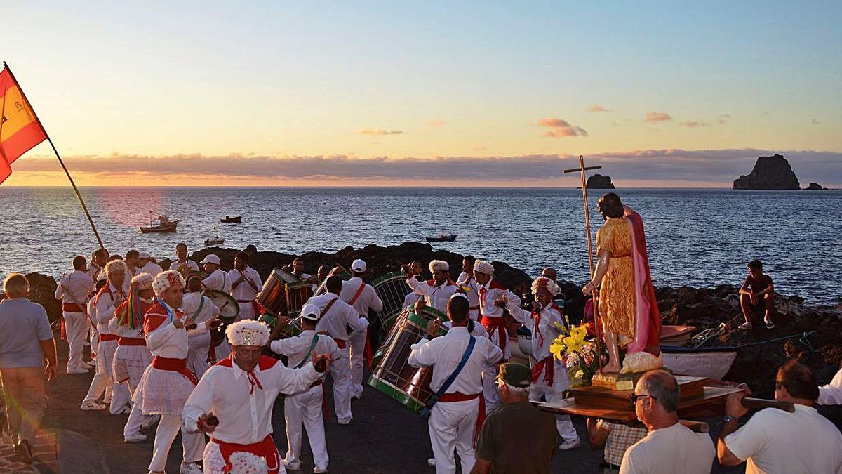 Celebración de San Juan Bautista, en Las Puntas. | | E.D.