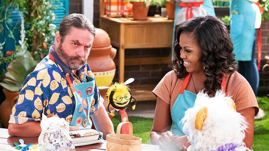 Obama en la cocina