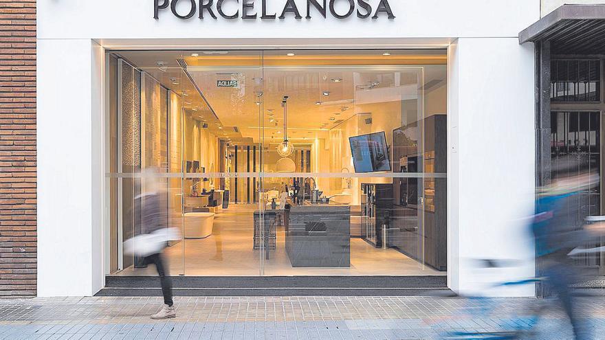 Porcelanosa traslada a València su innovador concepto de tienda