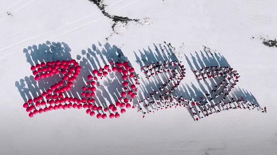 """China inicia el """"último trayecto"""" hacia los Juegos de Invierno de Pekín"""