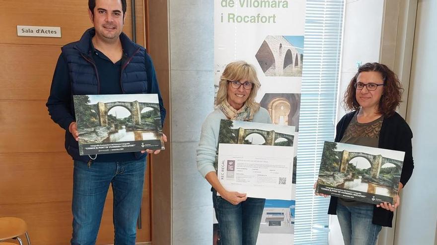 L'Ajuntament del Pont de Vilomara lliura el premi del concurs de turisme a xarxes socials