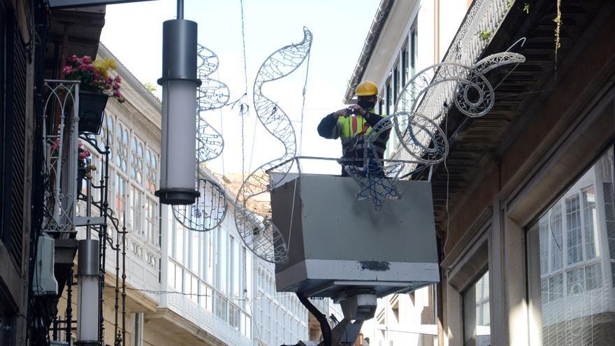 Animación callejera y espectáculos para niños en la Navidad de Pontevedra