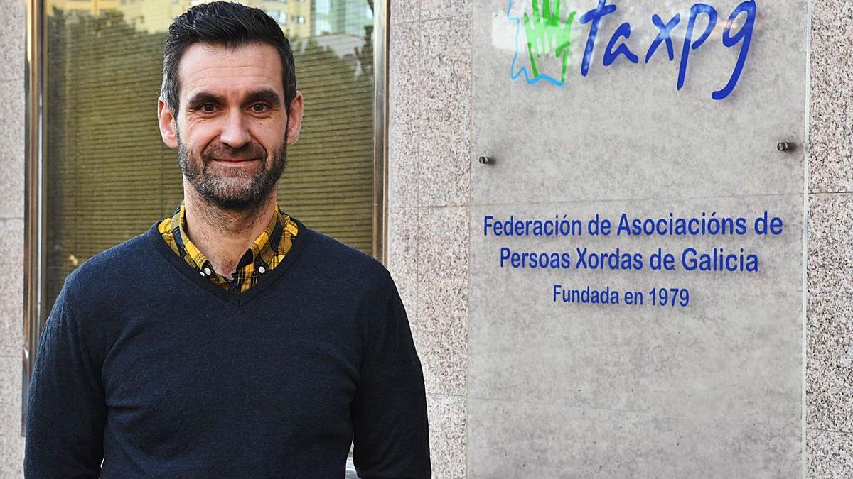 El presidente de la Federación, Iker Sertucha.   | // CARLOS PARDELLAS