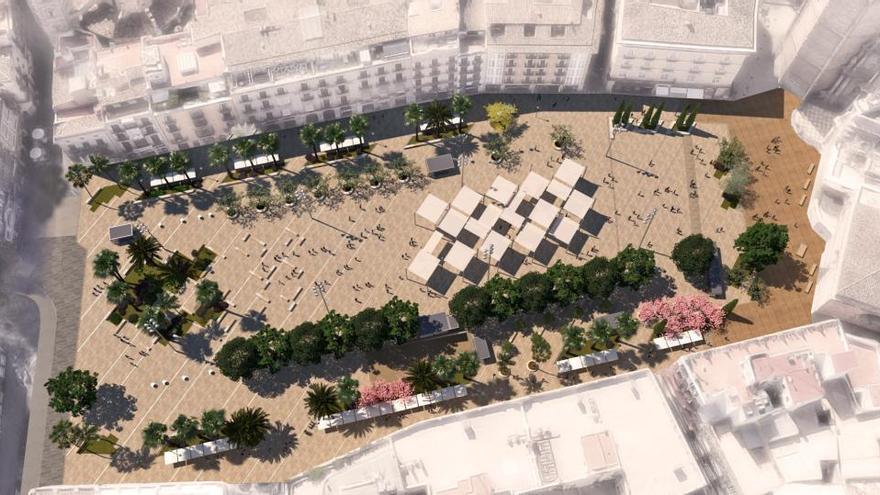 Los constructores de La Fe harán la remodelación de la Plaza de la Reina