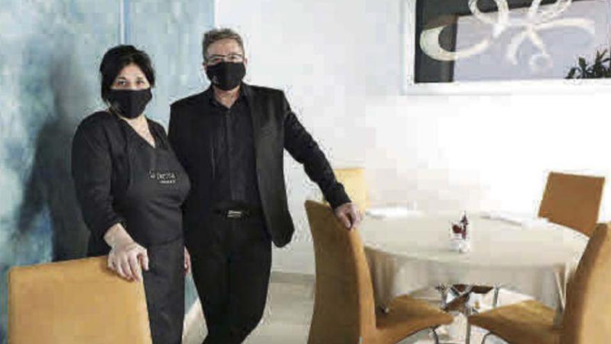 Marisa Barberán y David Pérez: «Al recibir el premio, pedimos un deseo: poder salir a cenar»