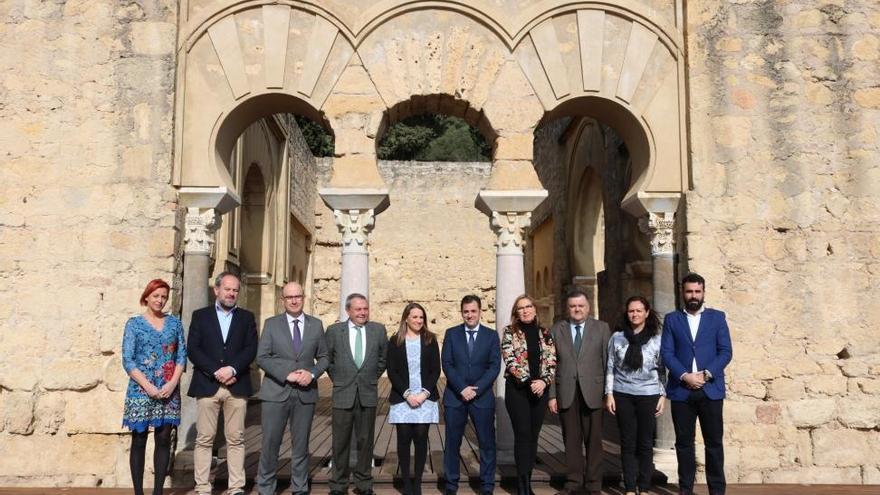 Los delegados de la Junta expresan su apoyo a la declaración de Medina Azahara