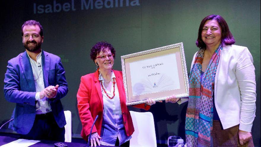 Isabel Medina, en el Día de las Escritoras