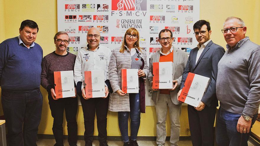 «FSMCV Edicions», el segell editorial que nodreix al col·lectiu de les Societats Musicals