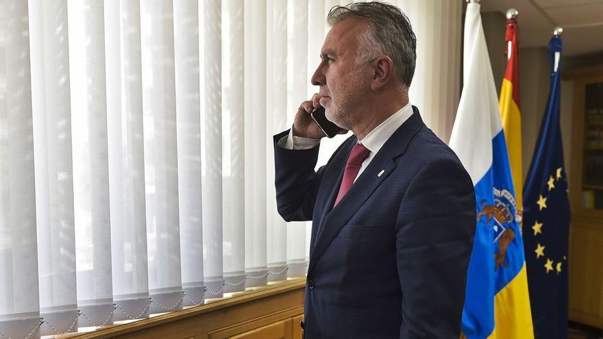 El presidente del Gobierno de Canarias espera que el TSJC ratifique el acuerdo adoptado de prórroga de las medidas tras el estado de alarma