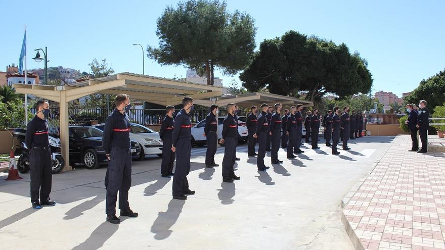 Treinta aspirantes a bombero de Málaga comienzan su formación para incorporarse en mayo