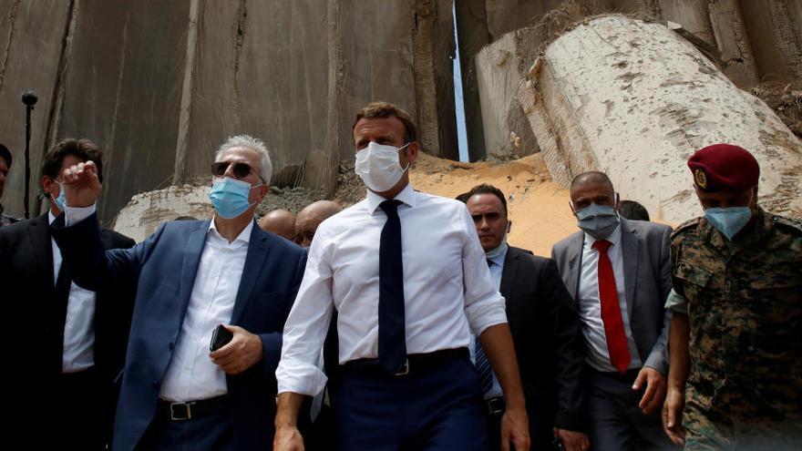 Francia organiza un puente aéreo para ayudar al Líbano