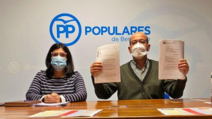 """El PP asegura que varios escritos registrados en el Ayuntamiento de Benavente hace meses """"siguen sin contestación"""""""