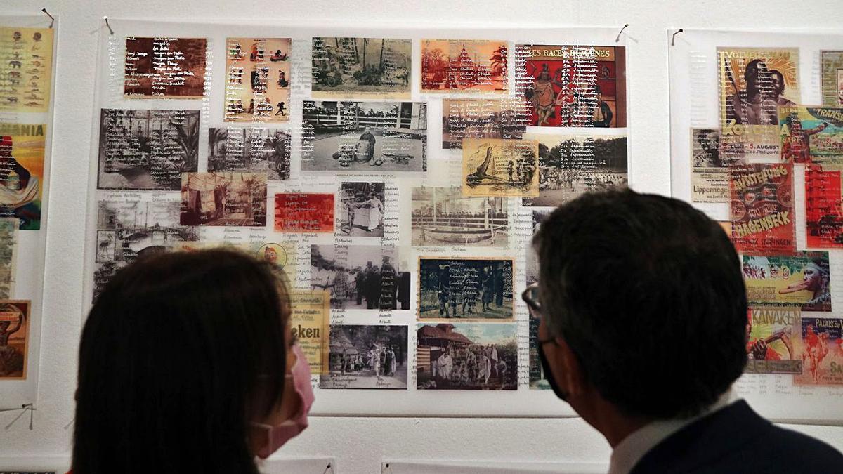 Imágenes de las exposiciones inauguradas ayer en La Térmica