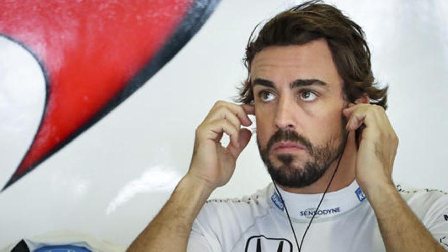 """Alonso: """"Íbamos lentos, hay que buscar el porqué"""""""