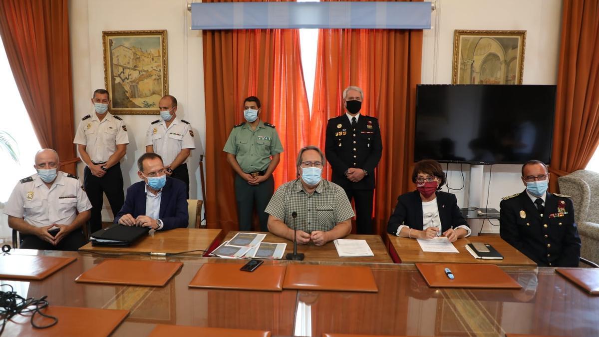 Firma del protocolo de adhesión a Viogén entre Ayuntamiento de Zamora y Gobierno