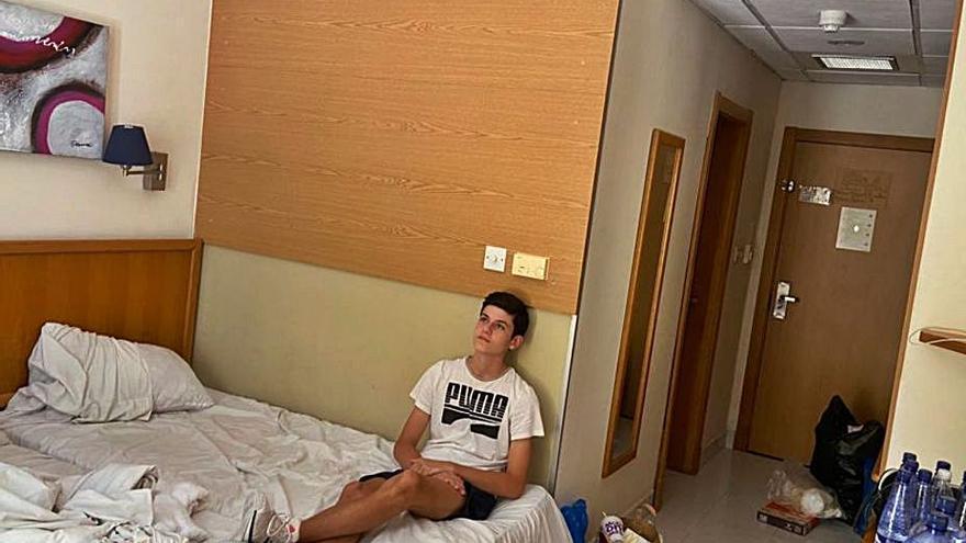 En la 'cárcel' maltesa
