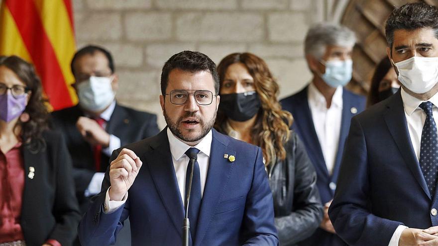 Aragonès critica l'Estat, però intenta salvar el diàleg davant els atacs de Junts