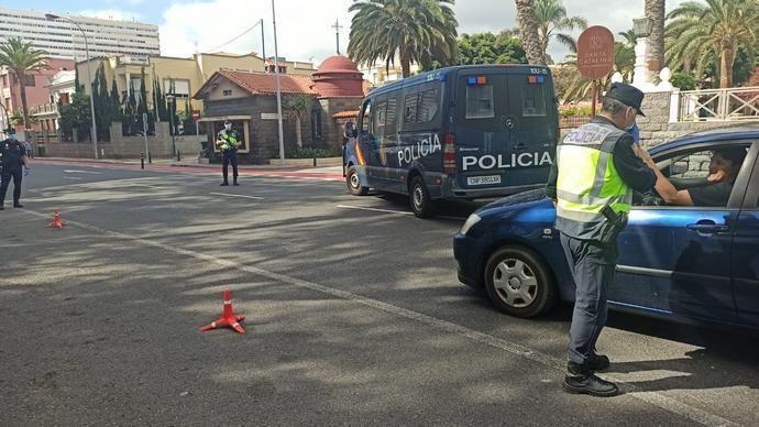 Exhaustivo control en León y Castillo en la fase 0 del desconfinamiento