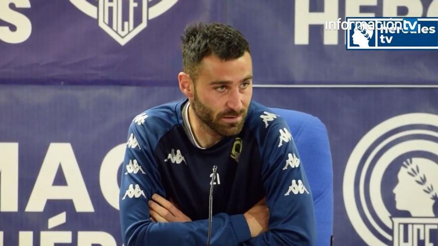 Benja Martínez cree que el problema del Hércules es psicológico y se solucionará ganando un partido
