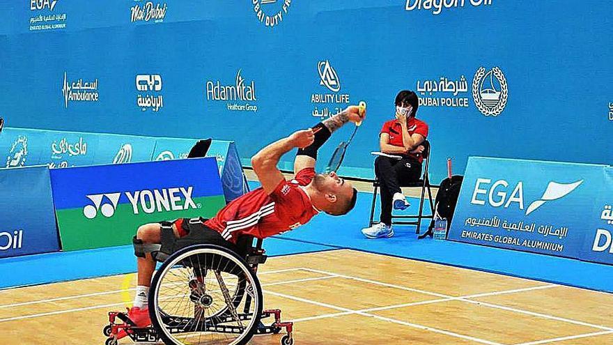Nacho Fernández, quinto puesto en Dubai