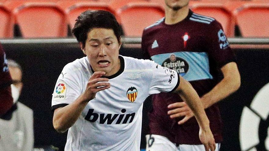 El Mallorca acepta ceder el 10% al Valencia para contratar a Kang In Lee