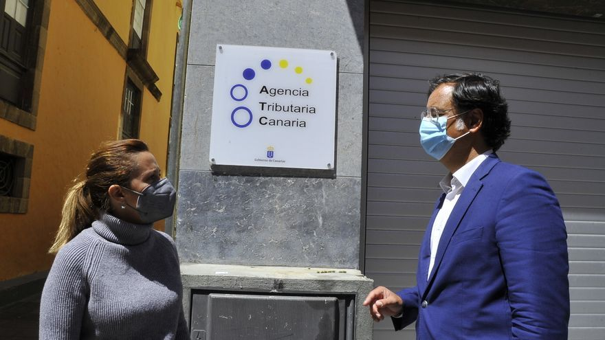 CC exige la apertura de la oficina de la Agencia Tributaria Canaria en Icod