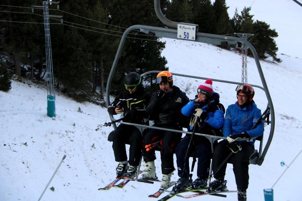Estrena de la temporada d'esquí a La Masella