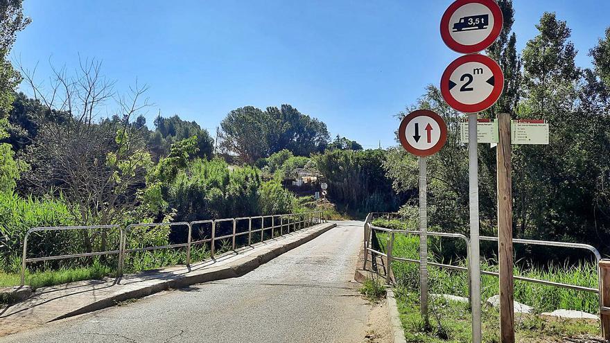 Sant Joan millorarà l'estructura del Pont Petit i el seu pas per als vianants