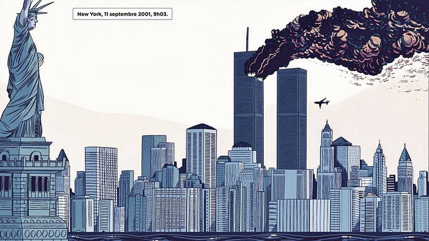 El 11-S en viñetas