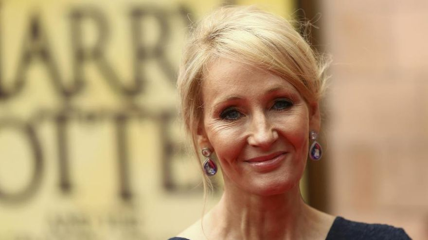 J.K. Rowling en una imagen de archivo.