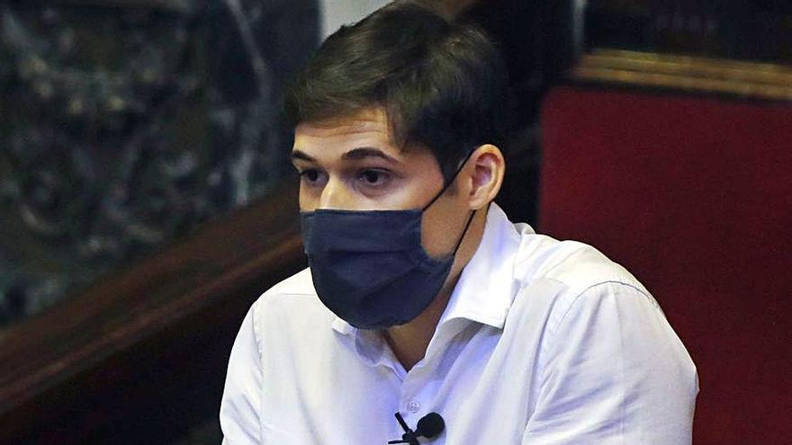 El concejal de Hacienda Borja Sanjuán (PSOE). | M.A.MONTESINOS