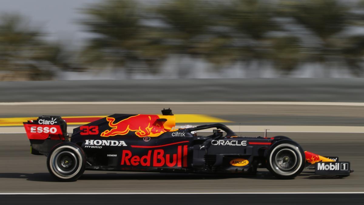 Max Verstappen, durante los entrenamientos.