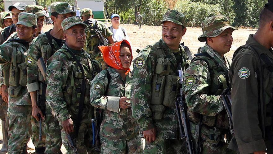 Las FARC comienzan la entrega de las armas
