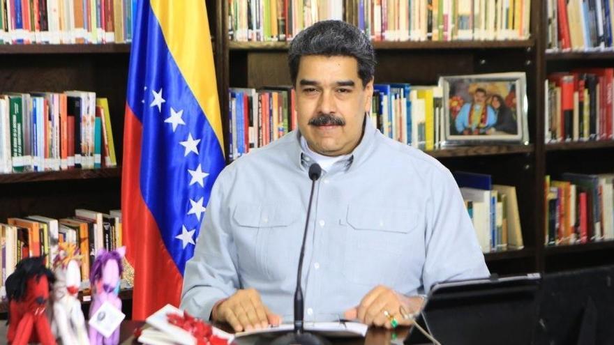 """Maduro dice que no le """"temblará el pulso"""" para detener a Guaidó"""