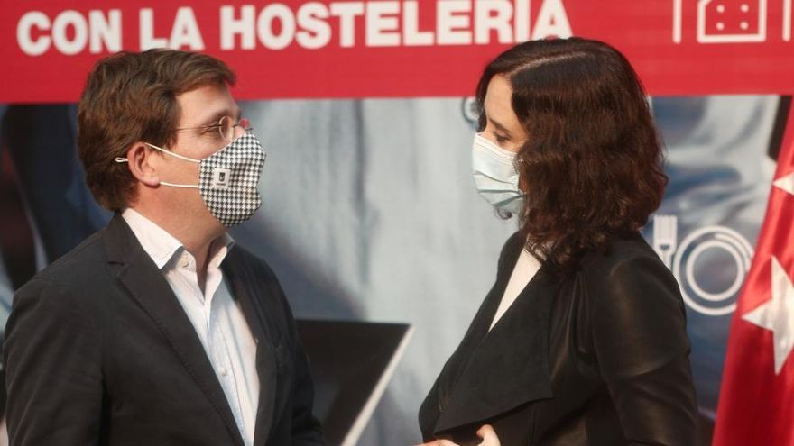 """Ayuso: """"El cierre de hostelería es impensable en Madrid"""""""