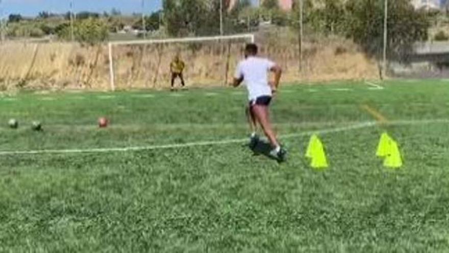 Hernani se entrena con un preparador físico personal ajeno al Levante