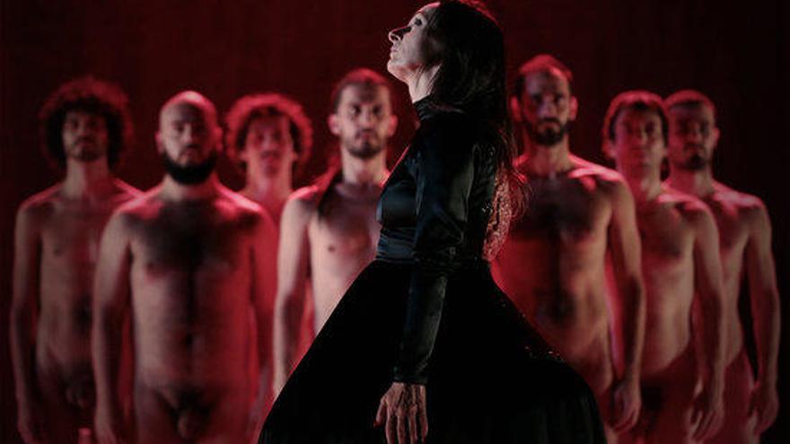 La figuerenca Angélica Liddell torna a Barcelona amb 'La lletra escarlata'