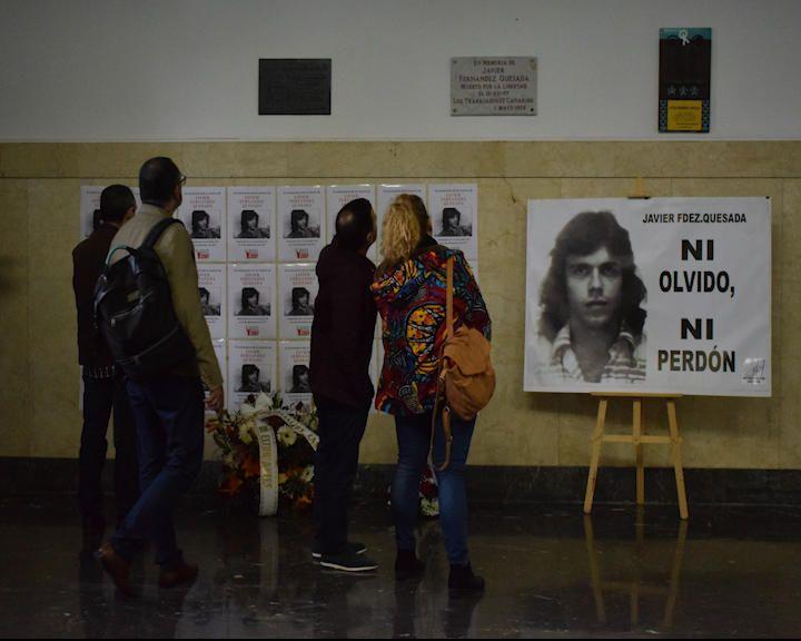 Homenaje a Javier Fernández Quesada en la ULL